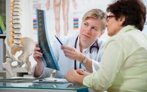 Симптомы травмы позвоночника