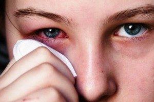 Повреждение глазика