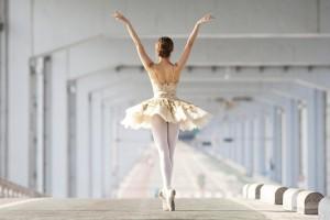 Синяк у балерины