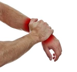 Боль при ушибе руки