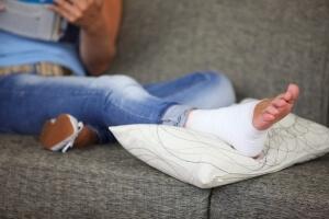 Лечение ушиба стопы