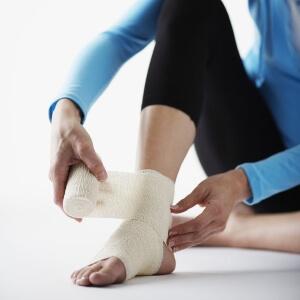 Ушиб мягкий тканей ноги