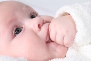 В мозге новорожденных