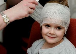 Ушиб мозга в детском возрасте