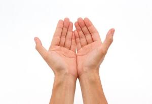 Руки при порезах