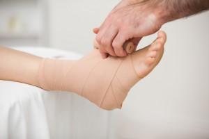 Вывих лодыжки: симптомы и лечение