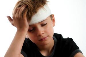 Высокая температура при травме головы