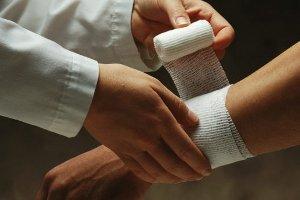 Перевязка при ранении