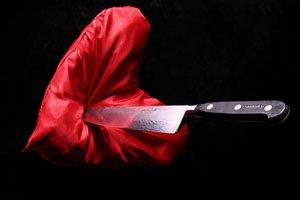 Нож в сердце
