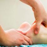 массаж пятки