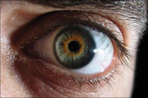 Глаз при разрыве