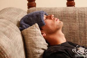 Боль в голове и температура