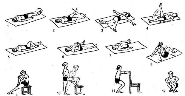 Для тазобедренных суставов
