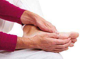 Сильно болят пальцы ног