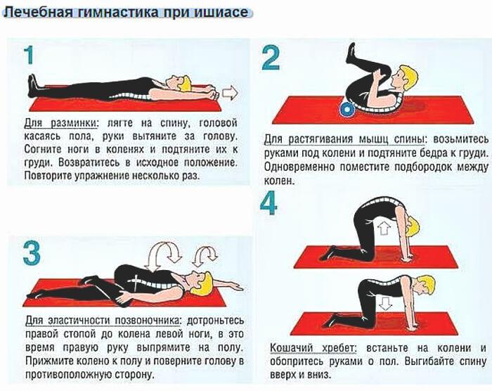 Лечебная гимнастика при болезни