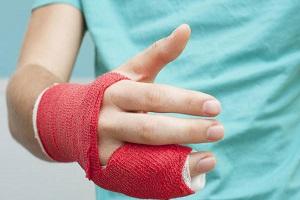Ушибленный палец