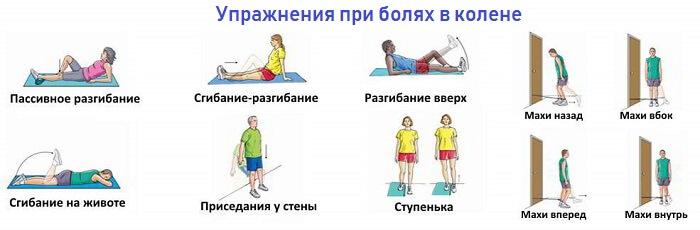 Упражнения от артрита