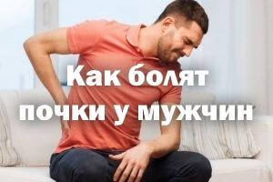 Как болят почки у мужчин