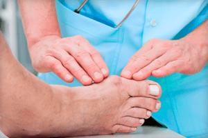 Онемение фаланг пальцев