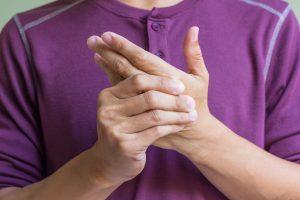 Дискомфорт внутри руки
