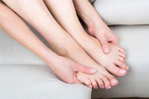 Парестезия ног и рук