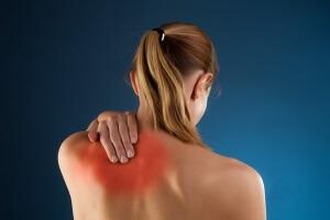 Парестезия части спины