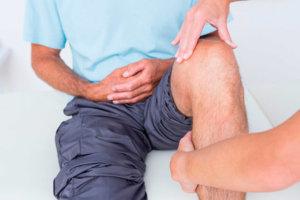 Болит верхняя часть коленки