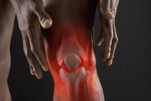 Картинка больного колена