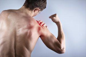 Мышцы плеча больного