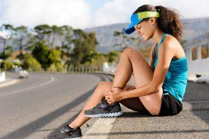 Из-за бега болят мышцы