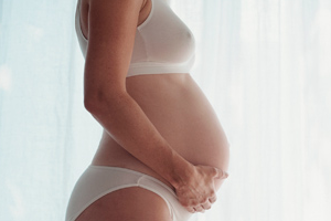 Девушка беременна