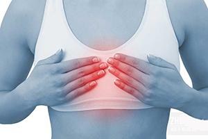 Боль посередине груди