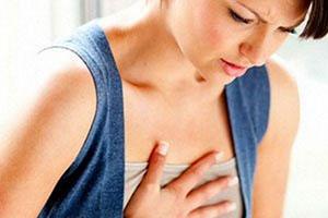 Нестерпима боль в грудине