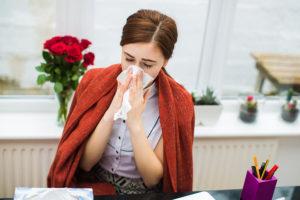 Беременная простудилась