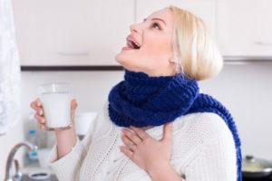 Средство для полоскания горлышка